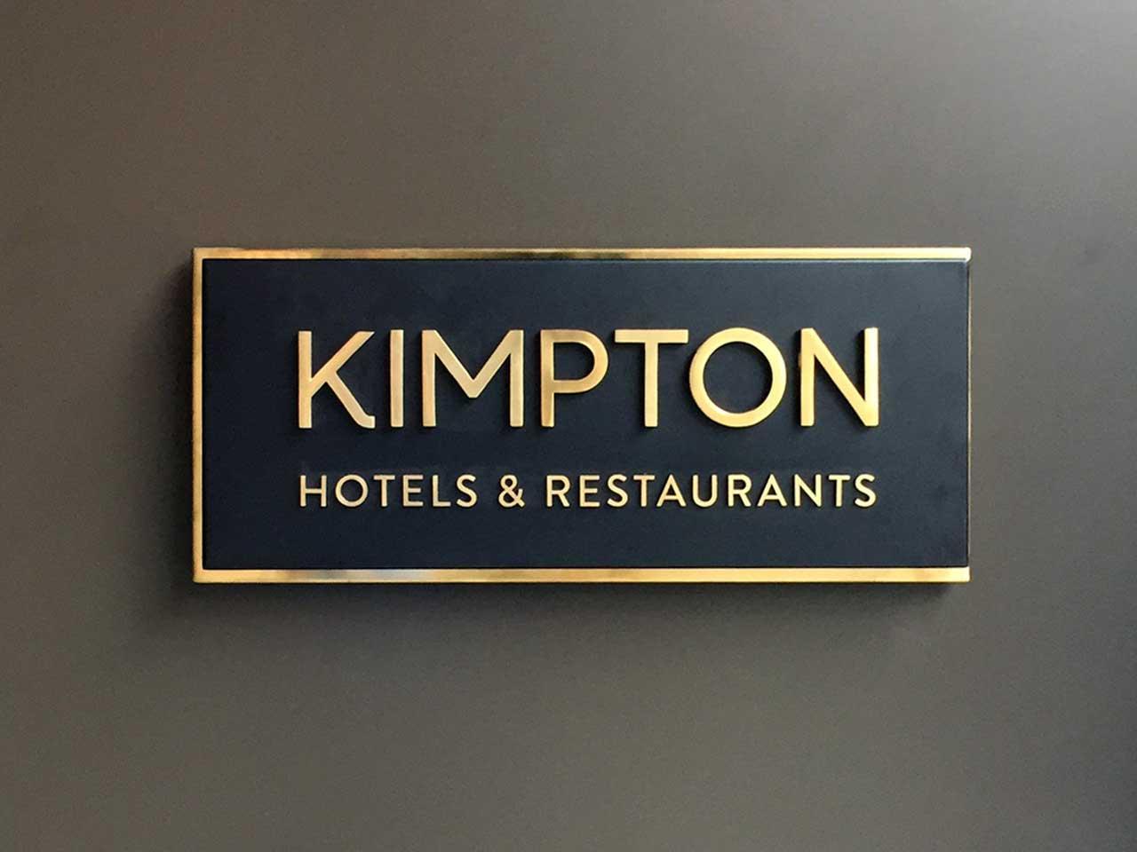 跨國知名飯店專業招牌指示牌製作
